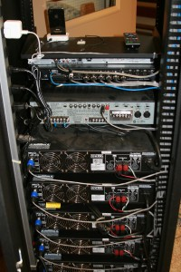New amplifier rack (back)