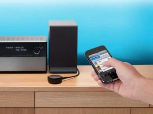 A wireless Bluetooth system eliminates audio cable failures and is simple to set up