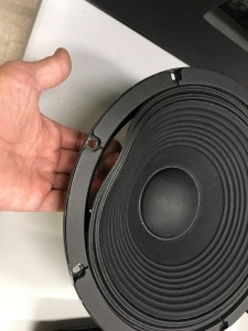 CR blown speaker