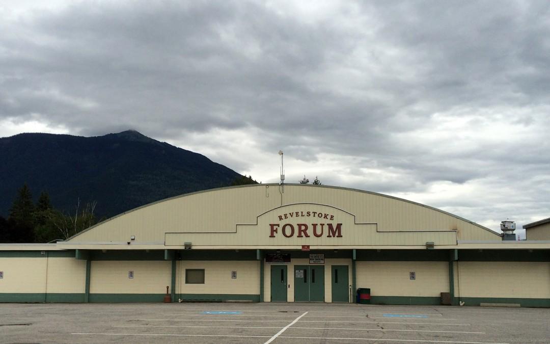 Revelstoke Arena   May 2002 & September 2015