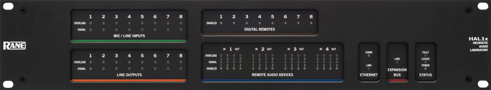 Simple control with Rane HAL digital signal processor