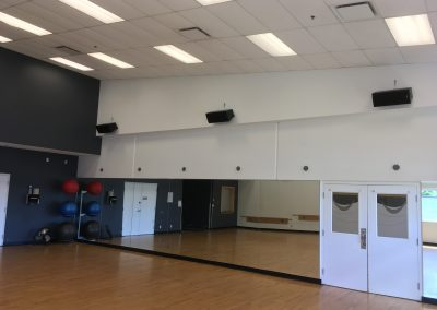 Fraser Heights Community Centre Speaker Upgrades May 2017
