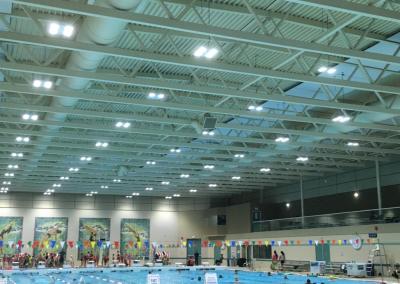 Surrey Leisure Centre Sound System Upgrade October 2017
