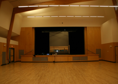 Ucluelet Community Centre Sound and Lighting installation – August 2017