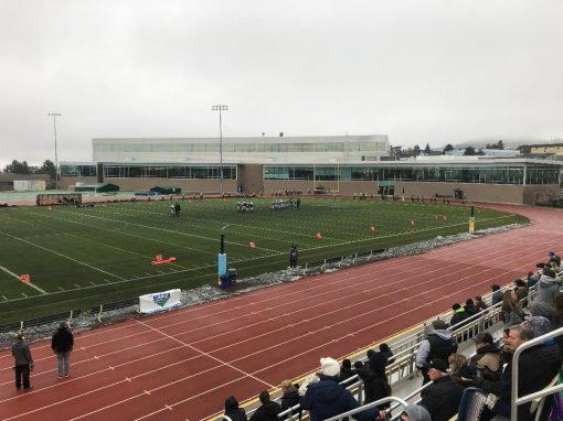 Kamloops Hillside Stadium Sound installation –  November 2019