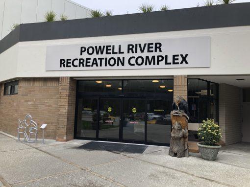 Powell River Recreation Centre Sound System Upgrade Dec 2019
