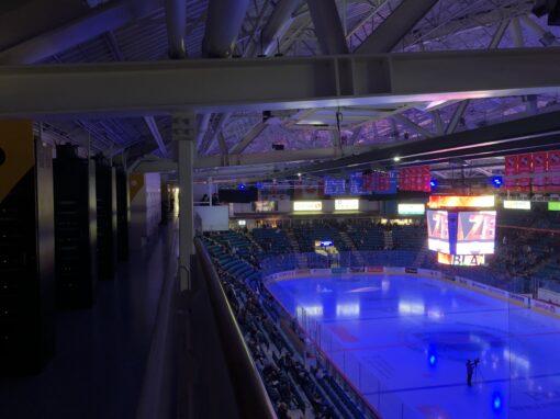 Kamloops Sandman Arena Sound System Upgrade July 2020